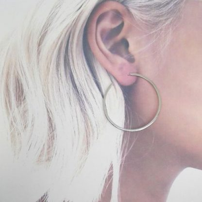 Pendientes de aros oreja