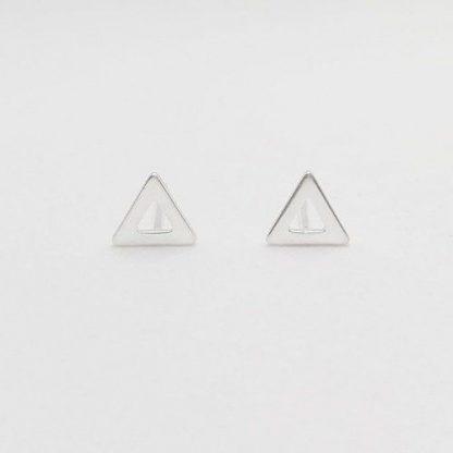 pendientes triangulares