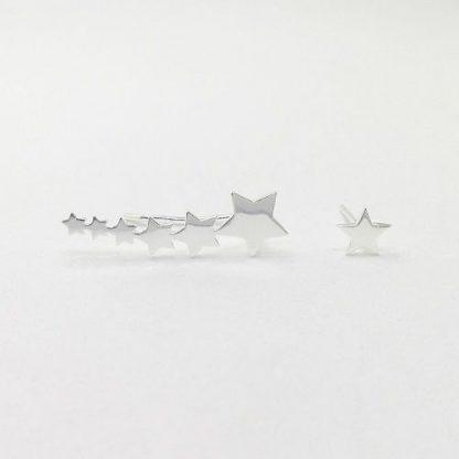 pendientes trepadores estrella