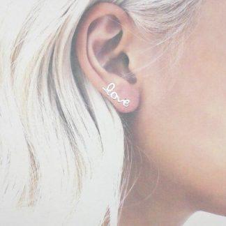 ear cuffs plata de ley